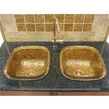 jsg oceana 24k gold kitchen sinks drop in from oceana glass