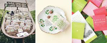 flower seed wedding favors 10 fantastic wedding favour ideas from plants to sted spoons