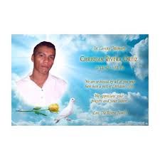 memorial card you print personalized memorial card with photo
