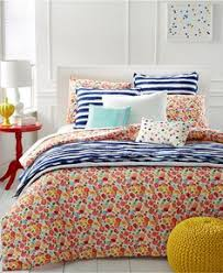 Macy S Bed And Bath Martha Stewart Whim Collection Pretty In Poppy Bedding Collection