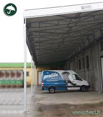 coperture tettoie in pvc foto tettoie industriali in pvc civert immagini di capannoni per