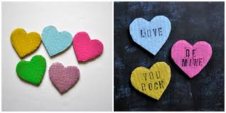 conversation heart sayings diy conversation heart banner cooking with ruthie