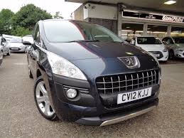 peugeot estate cars used peugeot 3008 estate for sale motors co uk