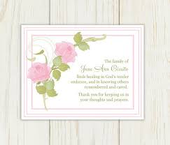 thank you for funeral flowers thank you notes for funeral flowers from work pictures reference