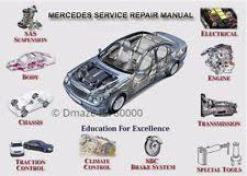 mercedes repair manuals mercedes s class repair manual ebay