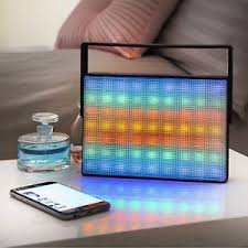 light up bluetooth speaker light up led wireless bluetooth portable speaker with carry handle