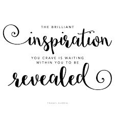 musings on being inspired u2014 franki durbin