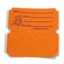 raffle ticket printing paper standard 50 50 raffle tickets us ticket com