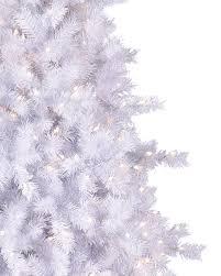 white pre lit christmas tree moonlight white tinsel artificial christmas tree treetopia