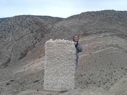 black white wool and cotton warp azilal rug fair trade morocco anou