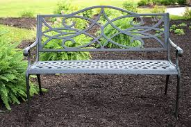 home environment design group paul wilsher 100 cast aluminum garden benches outside edge garden