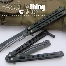 butterfly comb butterfly knife styled metal comb fascinathing store online