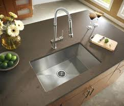 modern kitchen sink with drain boards and chrome faucet stainless undermount sink with drainboard home and sink