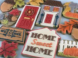 fall housewarming cookies semi sweet designs