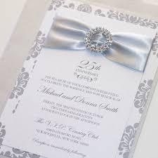 25th wedding anniversary invitations best 25 wedding anniversary invitations ideas on