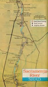 Maps Sacramento 2017 Shad Fishing Report And Sacramento River Shad Fishing Map