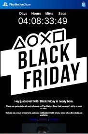 sony teases playstation store black friday deals confirms start