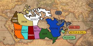 Canada Map Song by What Each Province In Canada Googled The Most In 2015 Mtl Blog