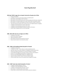 sle of resume krmarshall resume 06 05 15