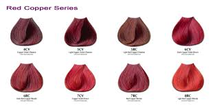 red hair dye shades clanagnew decoration