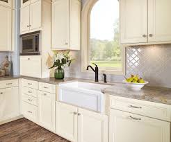 Modern Kitchen Cabinets Images Interior Design Interesting White Waypoint Cabinets With Dark