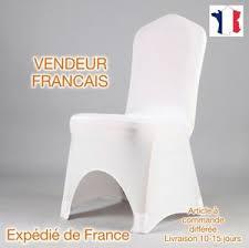 housse de chaise en lycra x100 housses de chaise lycra extensible mariage neuf blanc ebay