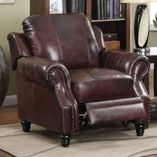 Leather Accent Chair Shop Chairs At Lowes Com