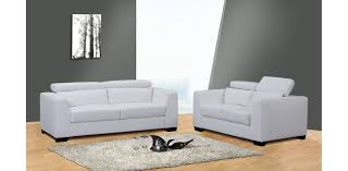 White Contemporary Sofa by Color Your Living Room With Awe And Couch Loveseat Set For More