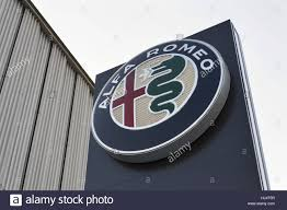 alfa romeo logo alfa romeo building stock photos u0026 alfa romeo building stock