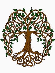 celtic knot tree of t shirt by lakelandwholes1 redbubble