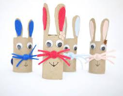 cardboard tube bunny craft fun family crafts