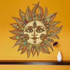 my wonderful walls celestial sun art wall sticker decal helios by valentina harper