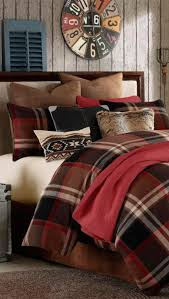 Eddie Bauer Rugged Plaid Comforter Set Rustic Grand Canyon Bedding Log Cabin Bedding King Set U003d 440