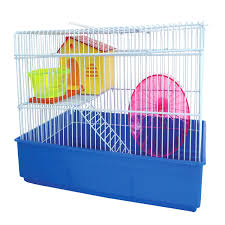 Hamster Cages Petsmart Yml 2 Level Blue Hamster Cage Petco