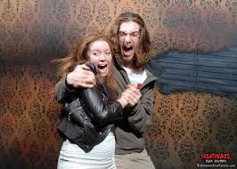 halloween horror nights meme 32 hilarious haunted house reactions caught on camera huffpost