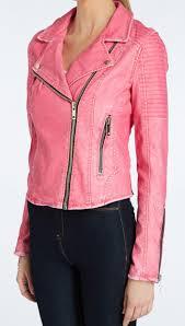pink leather motorcycle jacket blanknyc the vegan leather jacket denimology