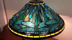 Art Deco Lamp Shades Tiffany Style Water Lily Stained Glass Lamp Shade One Of A