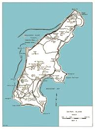 Map Of Guam Hyperwar Usmc Monograph Saipan The Beginning Of The End