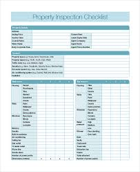 Home Inspection Template Excel Home Inspection Checklist 11 Free Word Pdf Documents
