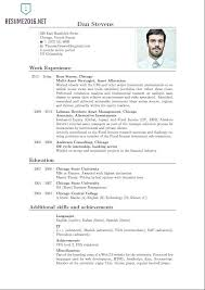chartered accountant resume resume in html format rouxrestaurant us