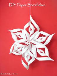 diy 3d paper snowflakes 3d paper snowflakes paper snowflakes