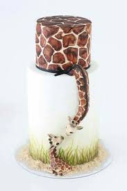 giraffe baby shower cake best 25 giraffe cakes ideas on baby cakes elephant