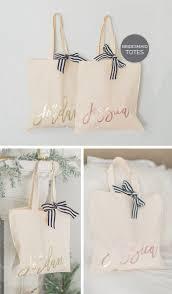 bridal party gift bags bridesmaid tote bag gold gold gold bridal party tote