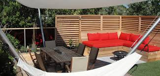 Rooftop Patio Design Fences Archives Montreal Outdoor Living