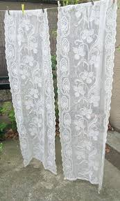 vintage lace curtains u2013 teawing co