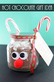 hot chocolate gift hot chocolate in a jar gift idea the country chic cottage