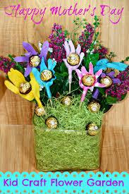 kid craft mother u0027s day flower garden divine lifestyle