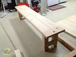 how to build a farmhouse table diy farmhouse table and bench diy