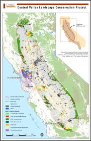 california map project the project focal area the california central valley california