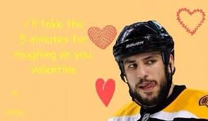 hockey valentines cards hockey our one true happy valentines day the pink puck